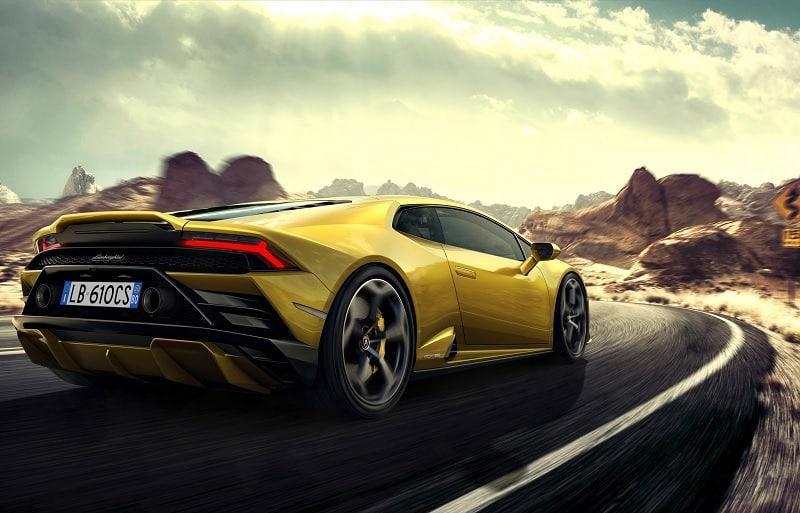 2021 Lamborghini Huracan EVO RWD On Road