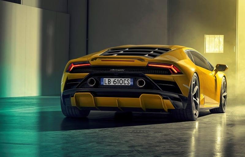 2021 Lamborghini Huracan EVO RWD Rear