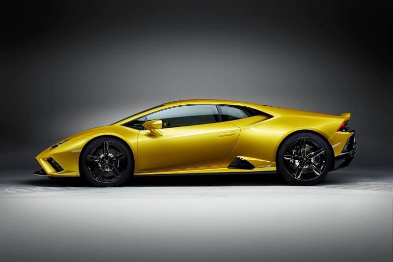 2021 Lamborghini Huracan EVO RWD Side View