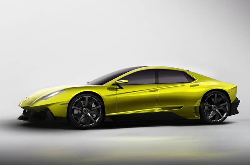 2021 Lamborghini Saloon Concept