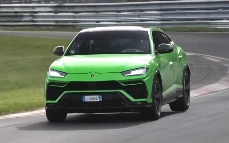 2021 Lamborghini Urus ST-X Spy Shot Front View