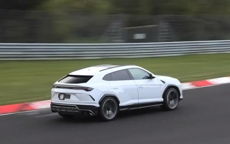 2021 Lamborghini Urus ST-X Spy Shot Side View