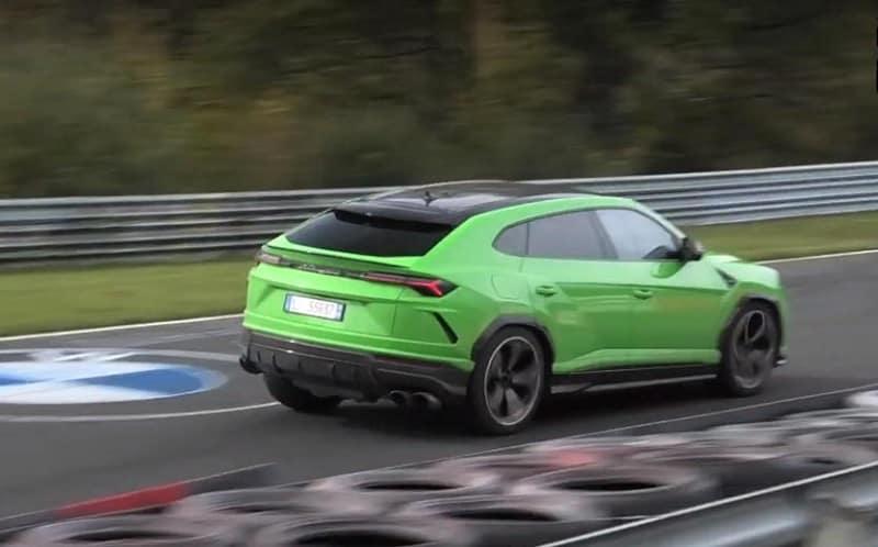 2021 Lamborghini Urus ST-X Spy Shot