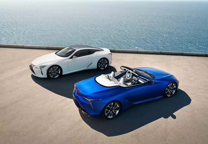 2021 Lexus LC500 Convertible And Coupe