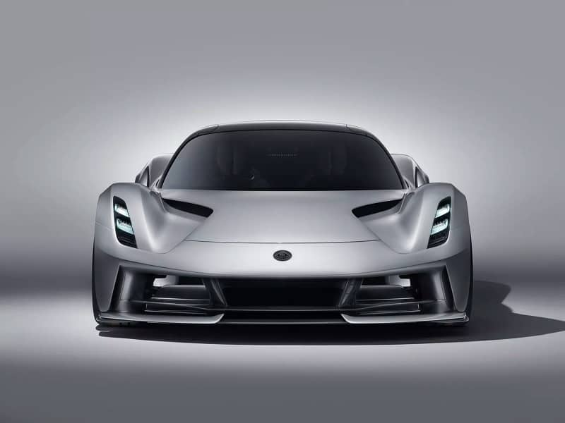2021 Lotus Evija Front