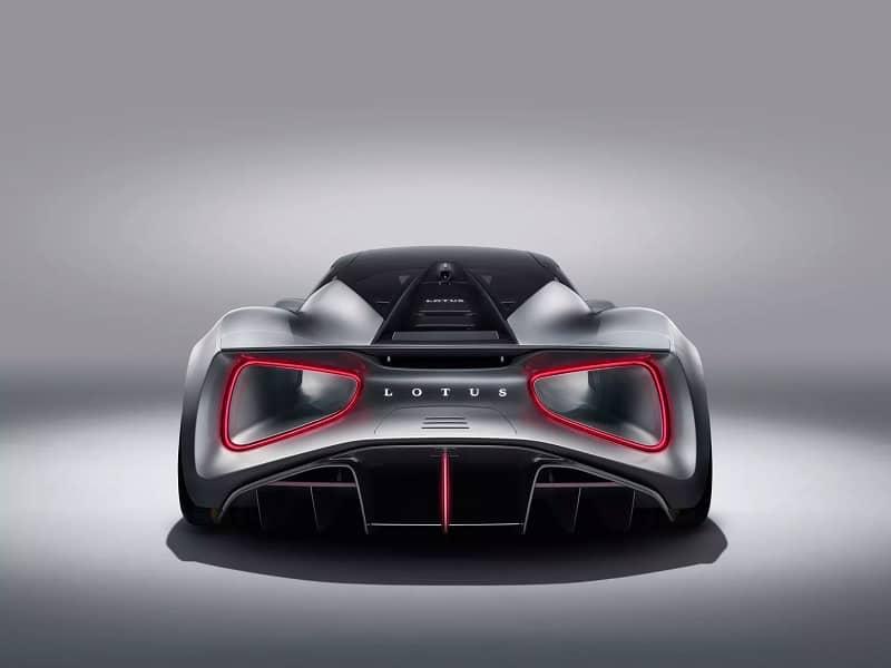 2021 Lotus Evija Rear