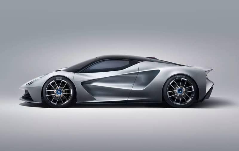 2021 Lotus Evija Side Shot
