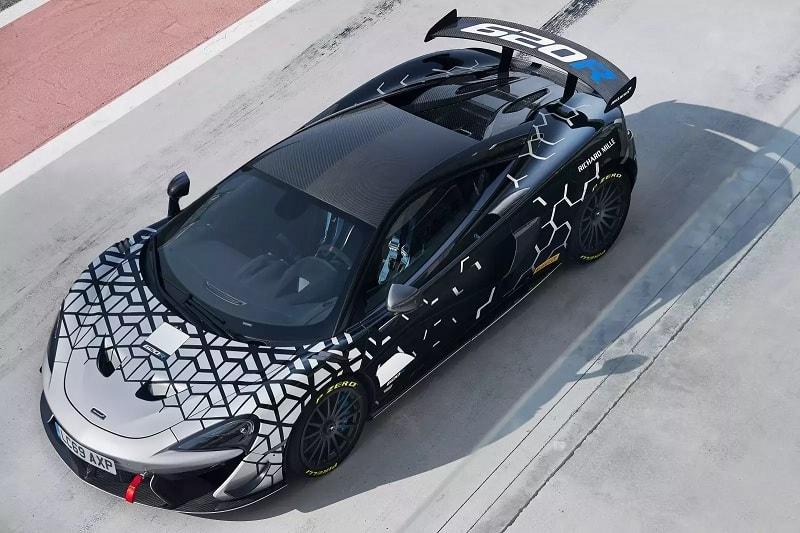2021 McLaren 620R Above