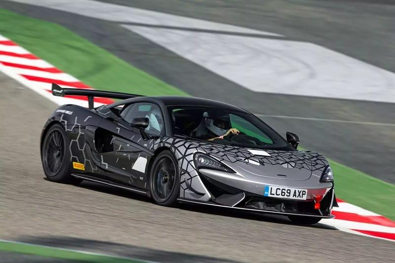 2021 McLaren 620R Front 3 Quarters