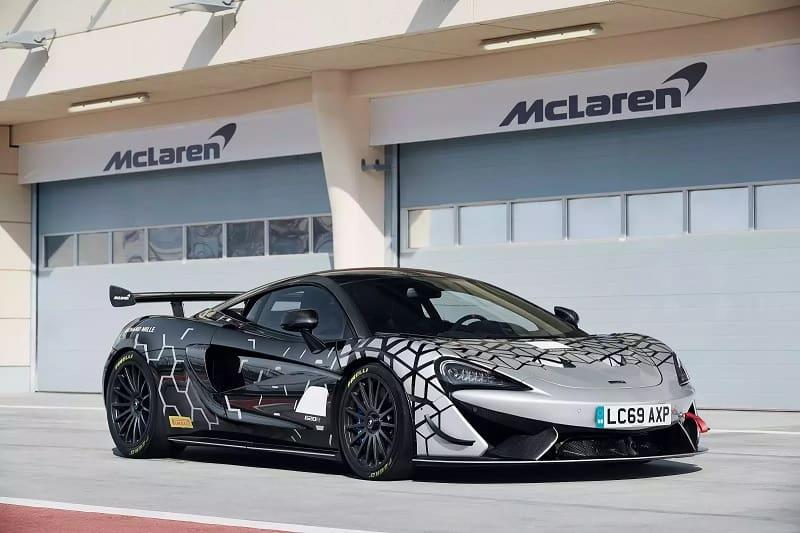 2021 McLaren 620R Parked