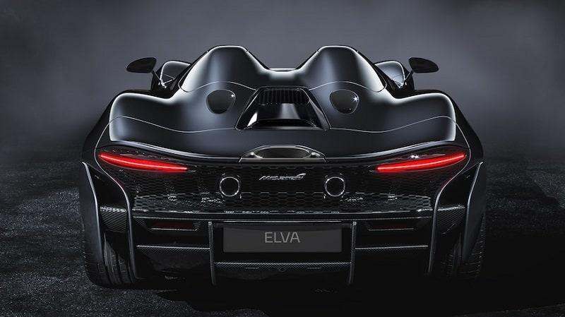 2021 McLaren Elva Rear