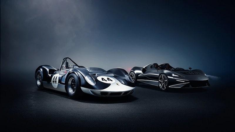 2021 McLaren Elva and Original Elva
