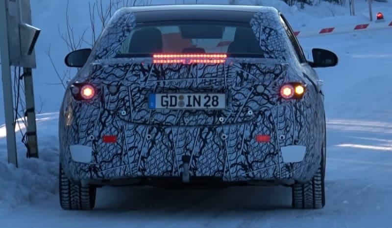 2021 Mercedes-Benz C-Class Spy Shot Rear