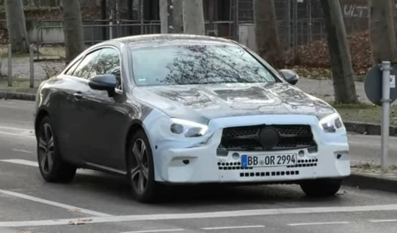 2021 Mercedes-Benz E-Class Spy Shot Front