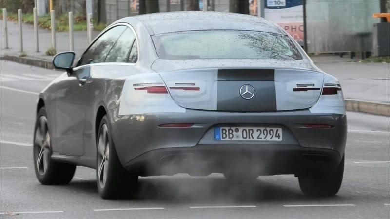 2021 Mercedes-Benz E-Class Spy Shot Rear