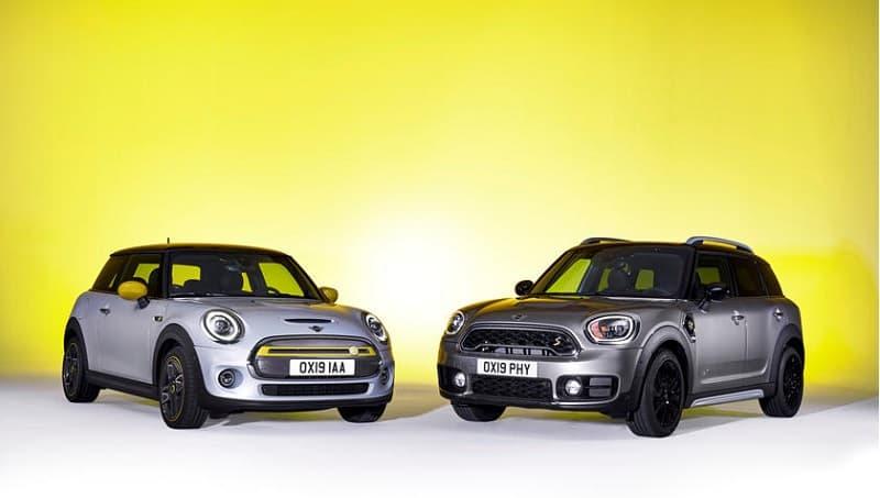 2021 Mini Cooper SE and Clubman