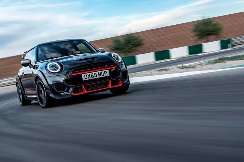 2021 Mini John Cooper Works GP On Track Front View
