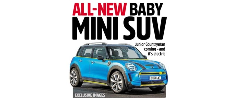 2021 Mini SUV Rendering Cover
