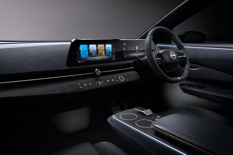 2021 Nissan Ariya Interior