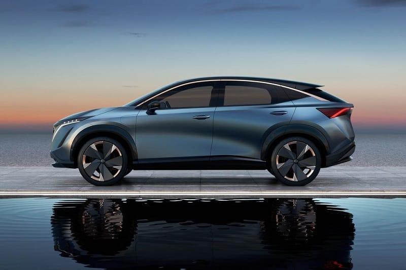 2021 Nissan Ariya Side