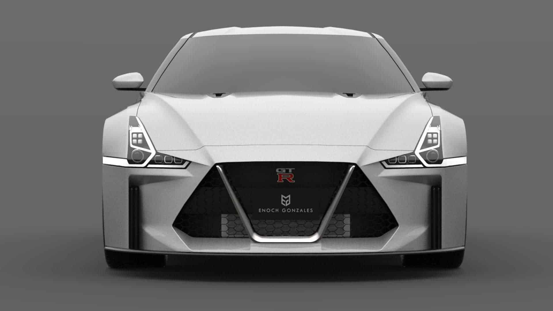 2021 Nissan GT-R Rendering Front