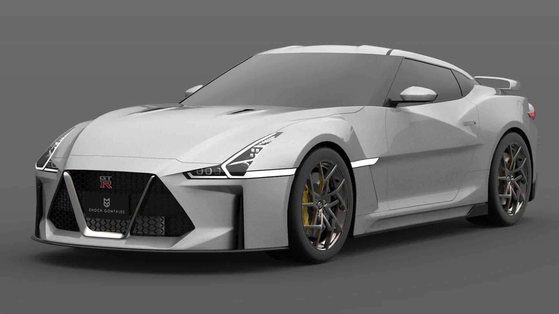 2021 Nissan GT-R Rendering