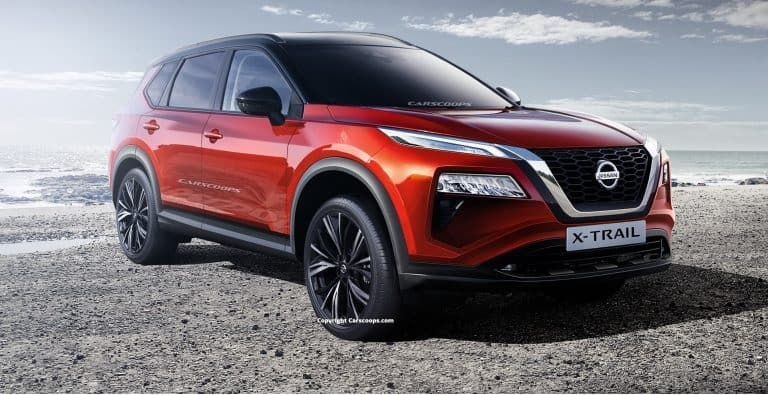 2021 Nissan Rogue Rendering