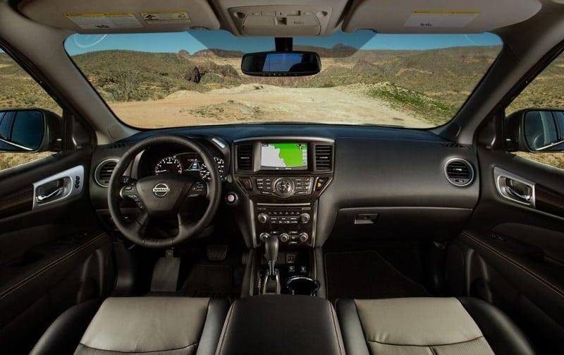 2021 Pathfinder Interior