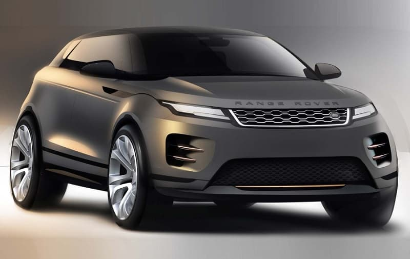 2021 Range Rover Crossover Render