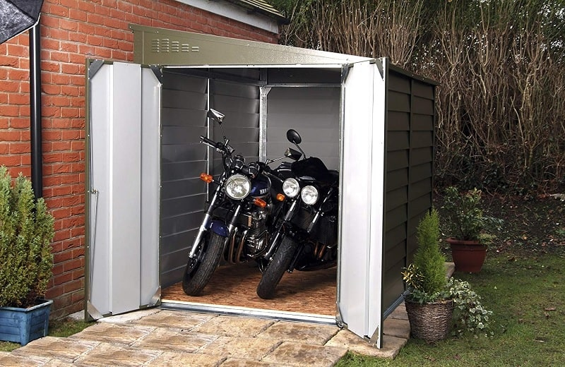 Bosmere Trimetals A400 Motorcycle Storage Shed