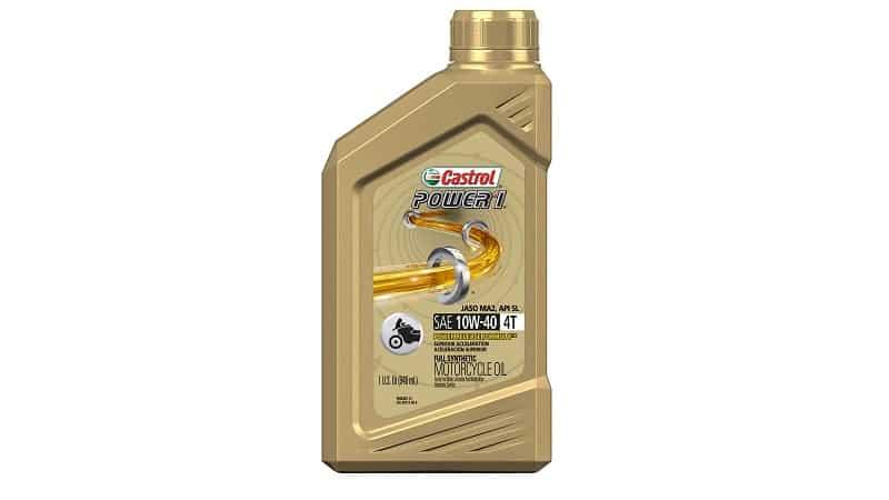 Castrol 06112 POWER 1 4T 10W-40 Synthetic Oil