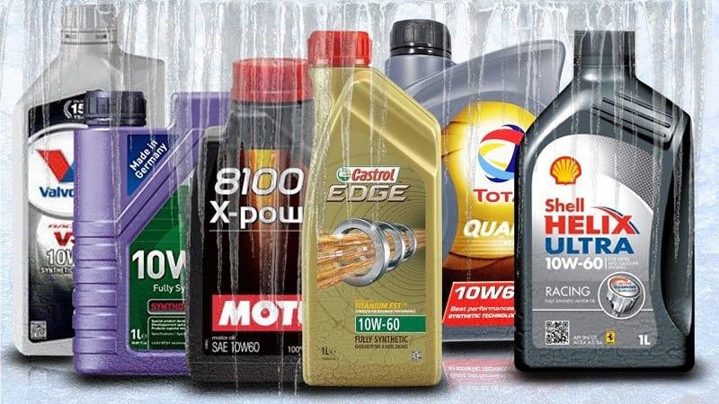 Different Motor Oils