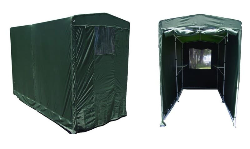 EZ Travel Collection Portable Motorcycle Storage Shed
