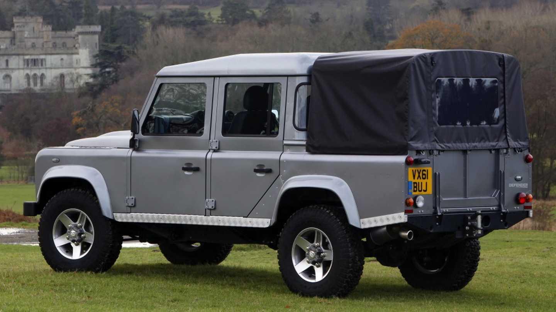 Land Rover Pickup Rumors