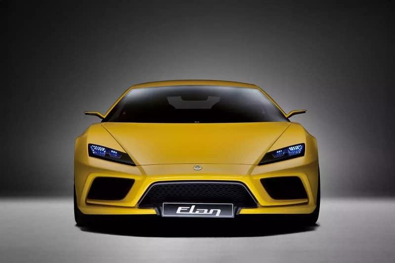 Lotus Elan Concept Car Front