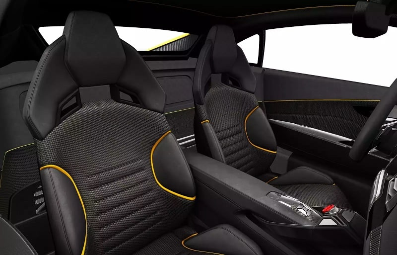 Lotus Elan Concept Car Interior