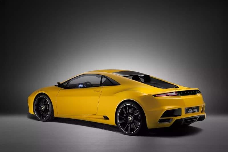 Lotus Elan Concept Car Rear 3/4
