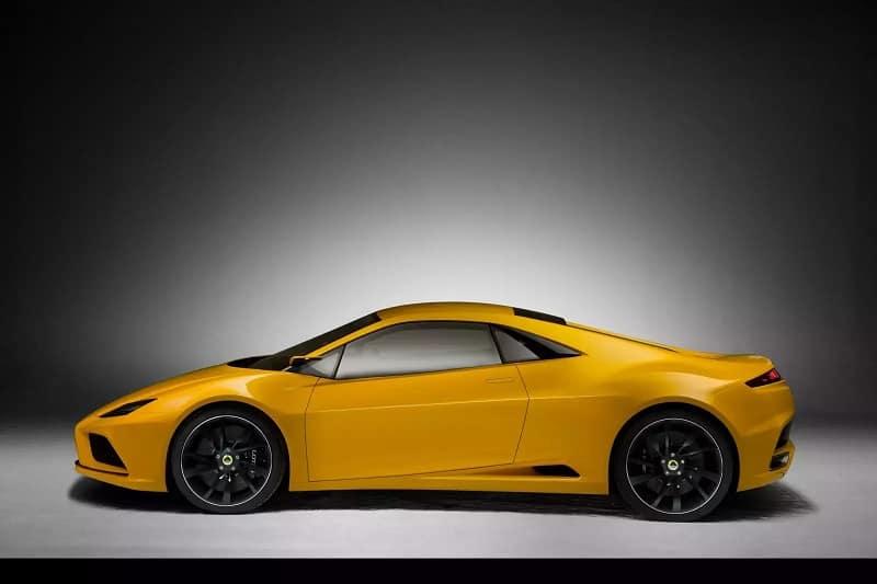 Lotus Elan Concept Car Side View