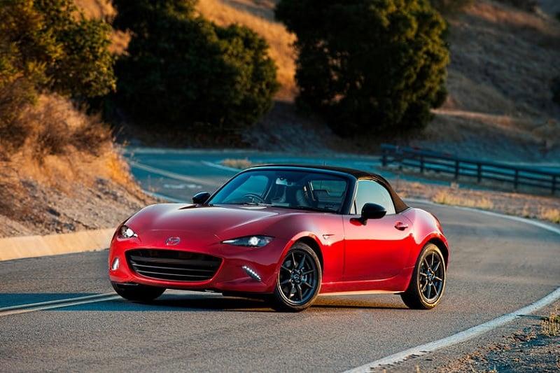 Mazda Miata Driving