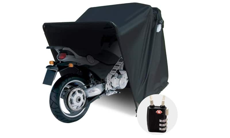 Quictent Heavy Duty Motorcycle Shelter Shed
