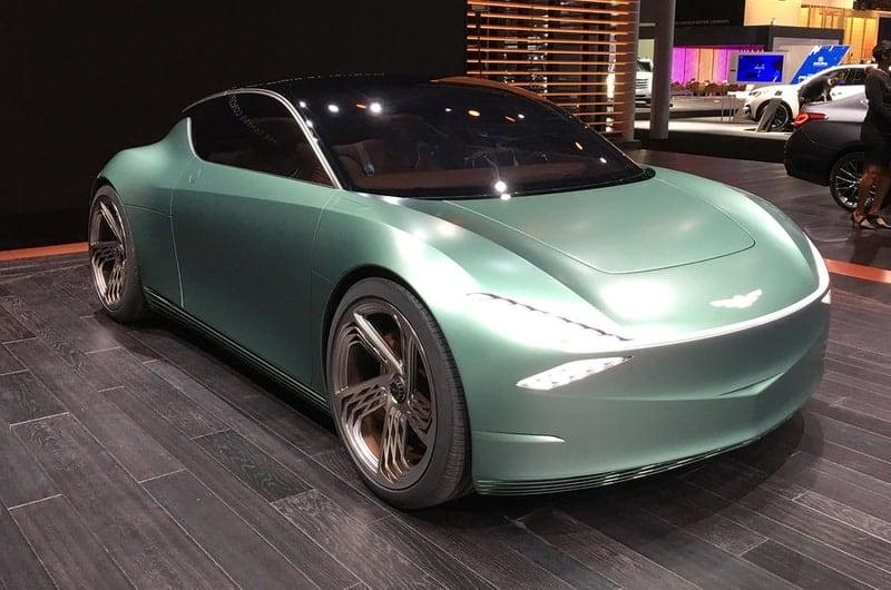 Genesis Mint concept car