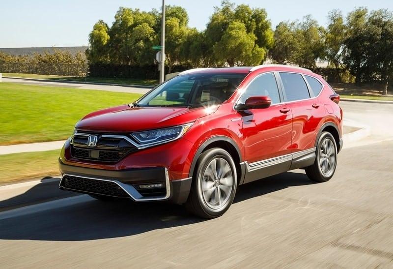 2021 Honda CR-V hybrid arrived in early 2020