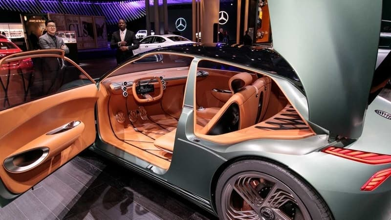 Hyundai EV interior