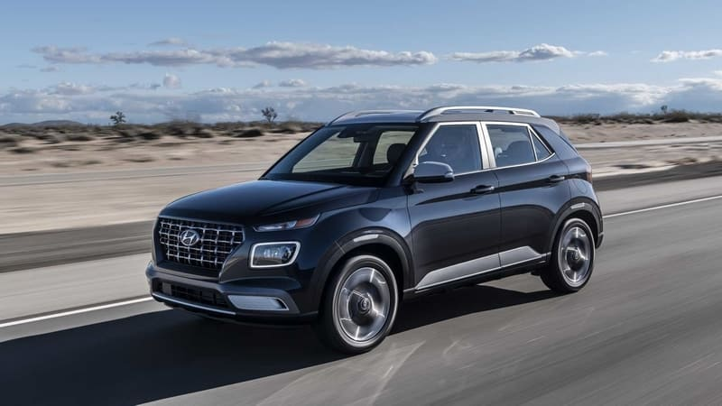 Hyundai Venue is the most affordable crossover money can buy in the U.S.