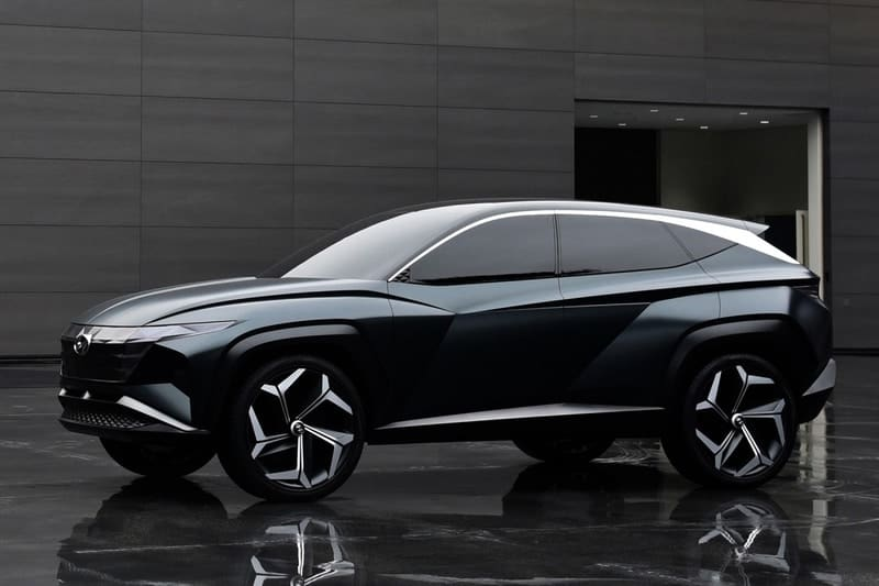 Hyundai Vision T Concept previews the upcoming Tucson crossover