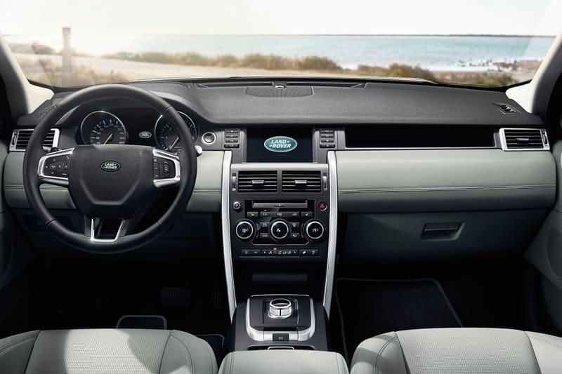 Disco Sport interior