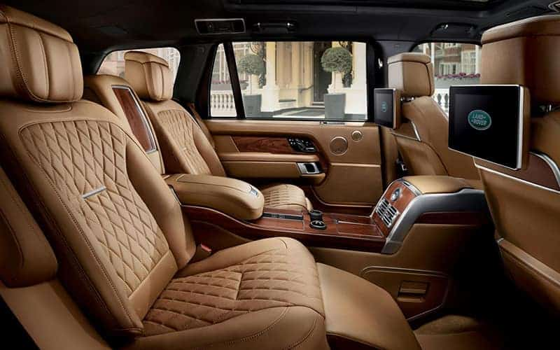 Range Rover SVAutobiography interior