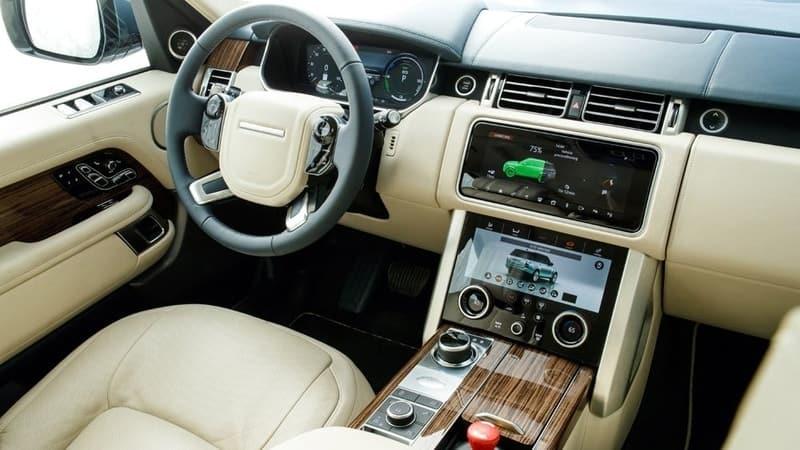 P400e hybrid interior