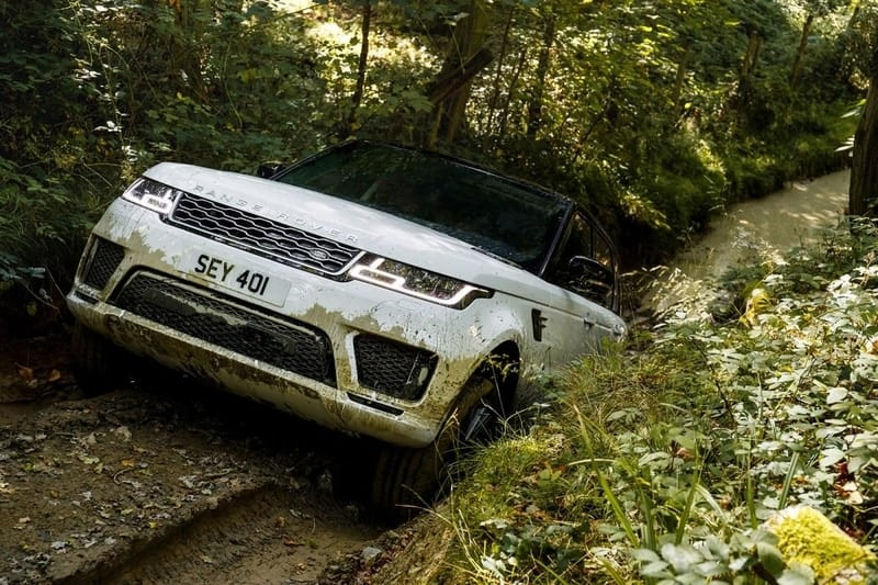 Rover Sport off-road
