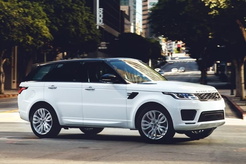 Range Rover Rover Sport profile view